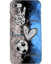 Peace - love - Soccer - phonecase Phone Case i-phone-7-case