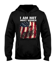 Motorcycle I am not most women Hooded Sweatshirt front
