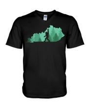 Bigfoot - Kentucky V-Neck T-Shirt thumbnail
