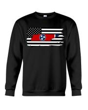 American and Tennessee map 9993 0037 Crewneck Sweatshirt thumbnail