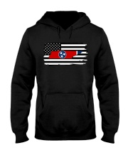 American and Tennessee map 9993 0037 Hooded Sweatshirt thumbnail