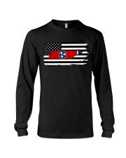 American and Tennessee map 9993 0037 Long Sleeve Tee thumbnail