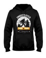 Bigfoot Undefeated hide and seek champion Hooded Sweatshirt front