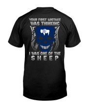 Your first mistake Wyoming 9993 0037 Classic T-Shirt back