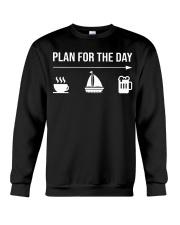 Sailing plan for the day men Crewneck Sweatshirt thumbnail
