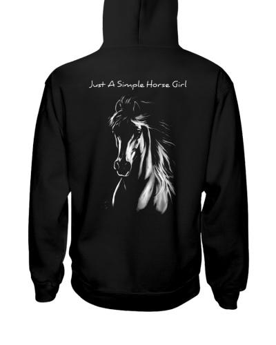 horse light simple girl uyen