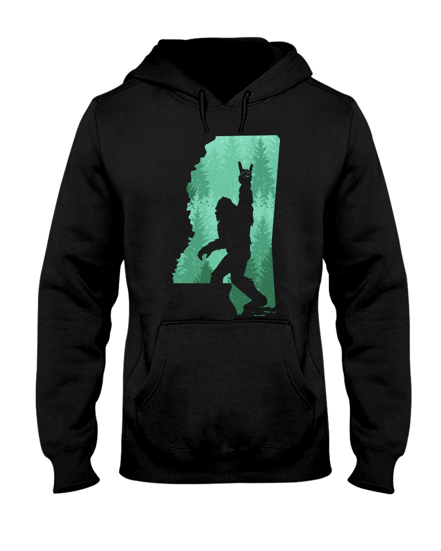 Bigfoot - Mississippi Hooded Sweatshirt