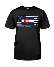 American and Colorado map 9993 0037 Classic T-Shirt thumbnail