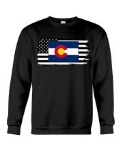 American and Colorado map 9993 0037 Crewneck Sweatshirt thumbnail