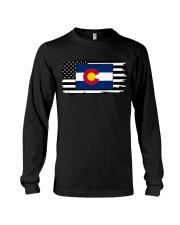 American and Colorado map 9993 0037 Long Sleeve Tee thumbnail