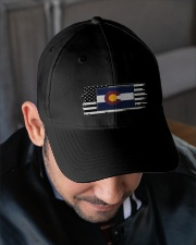 American and Colorado map 9993 0037 Embroidered Hat garment-embroidery-hat-lifestyle-02