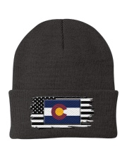American and Colorado map 9993 0037 Knit Beanie thumbnail