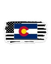 American and Colorado map 9993 0037 Sticker - Single (Horizontal) thumbnail