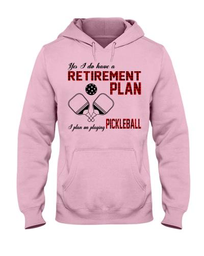 pickleball retirement plan