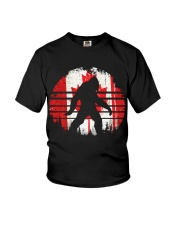 Bigfoot Canada Flag Youth T-Shirt tile