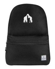 Bigfoot middle finger  in the forest - Accessories Backpack thumbnail