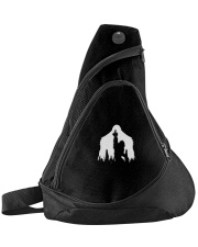 Bigfoot middle finger  in the forest - Accessories Sling Pack thumbnail