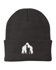 Bigfoot middle finger  in the forest - Accessories Knit Beanie thumbnail