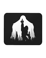 Bigfoot middle finger  in the forest - Accessories Mousepad thumbnail