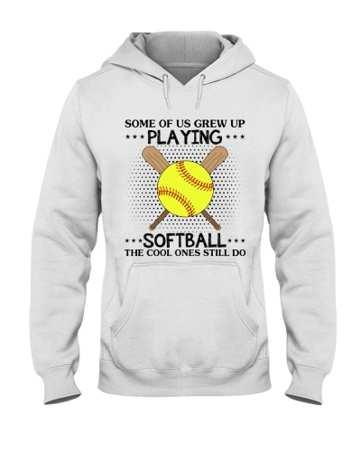 some of us grew up playing softball