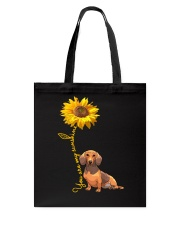 You are my sunshine - dachshund Tote Bag thumbnail