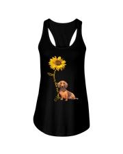 You are my sunshine - dachshund Ladies Flowy Tank thumbnail