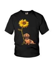 You are my sunshine - dachshund Youth T-Shirt thumbnail