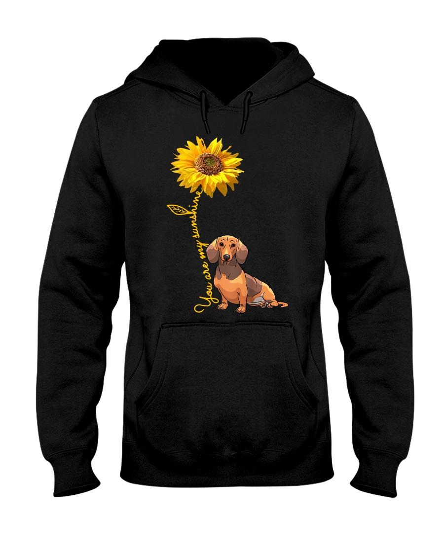 You are my sunshine - dachshund Hooded Sweatshirt