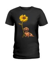 You are my sunshine - dachshund Ladies T-Shirt thumbnail