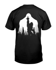 Bigfoot middle finger style - Back side Classic T-Shirt thumbnail