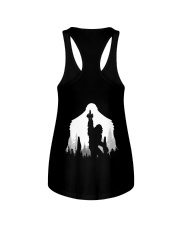 Bigfoot middle finger style - Back side Ladies Flowy Tank thumbnail