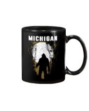 Michigan Bigfoot under the moon Mug thumbnail