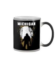 Michigan Bigfoot under the moon Color Changing Mug thumbnail