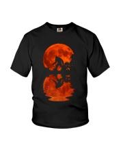 Bigfoot moon Youth T-Shirt thumbnail