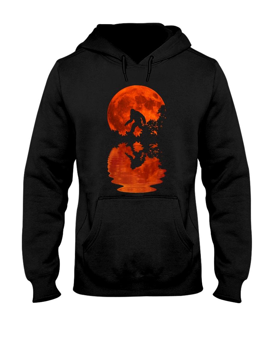 Bigfoot moon Hooded Sweatshirt