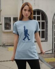 Bigfoot middle finger bl Classic T-Shirt apparel-classic-tshirt-lifestyle-19