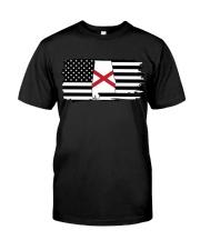 American and Alabama map 9993 0037 Classic T-Shirt thumbnail