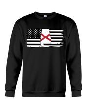American and Alabama map 9993 0037 Crewneck Sweatshirt thumbnail