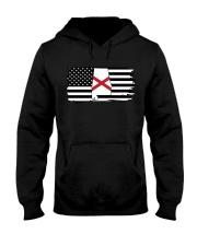 American and Alabama map 9993 0037 Hooded Sweatshirt thumbnail