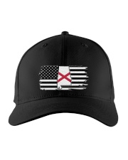 American and Alabama map 9993 0037 Embroidered Hat front