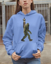 Bigfoot middle finger Camo Hooded Sweatshirt apparel-hooded-sweatshirt-lifestyle-07