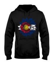 Sunflower Colorado flag 9998 0037 Hooded Sweatshirt front