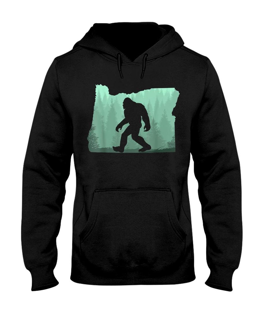 Bigfoot Oregon Hooded Sweatshirt