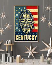 Bigfoot american flag - Kentucky 24x36 Poster lifestyle-holiday-poster-1
