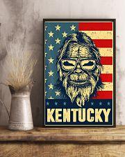 Bigfoot american flag - Kentucky 24x36 Poster lifestyle-poster-3