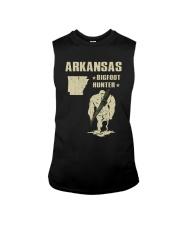 Arkansas - Bigfoot hunter Sleeveless Tee thumbnail