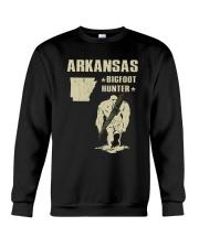 Arkansas - Bigfoot hunter Crewneck Sweatshirt thumbnail