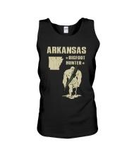 Arkansas - Bigfoot hunter Unisex Tank thumbnail