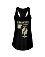 Arkansas - Bigfoot hunter Ladies Flowy Tank thumbnail