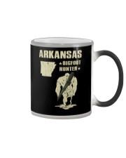 Arkansas - Bigfoot hunter Color Changing Mug thumbnail